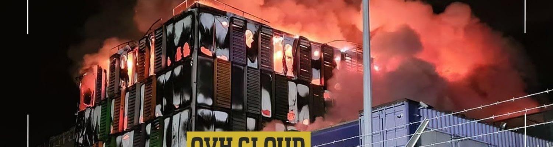 OVH Cloud fire